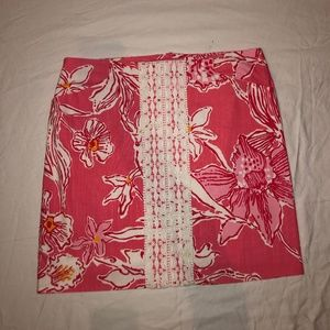 Lilly Pulitzer Roslyn Skirt Size 6